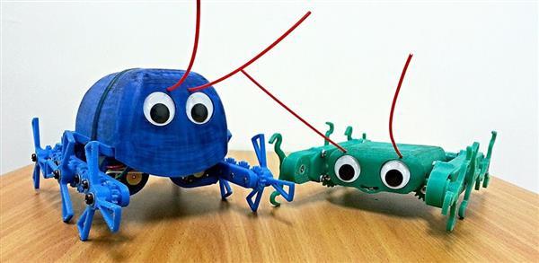 Израильский инженер разрабатывает шестиногих 3D-печатных роботов