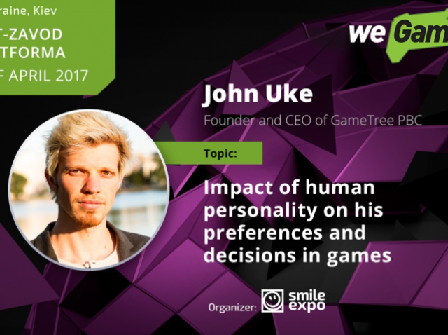 John Uke will tell how player personality influences game process
