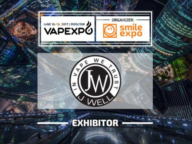 JWell at VAPEXPO Moscow 2017: Discover vaping products from the French brand