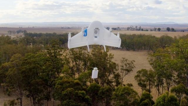 К 2017 году Google станет использовать дронов вместо курьеров