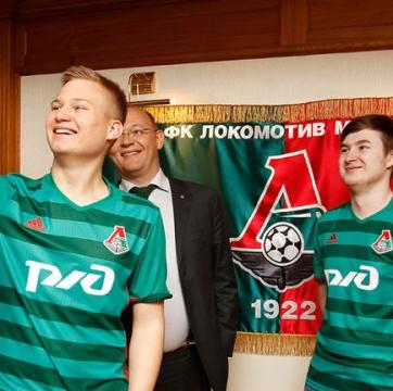 Two eSports football players joined FC Lokomotiv
