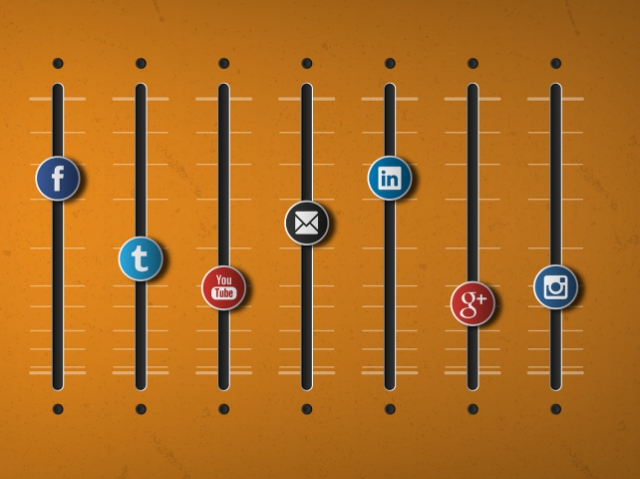 Как выбрать соц. сеть для бизнеса. Инфографика