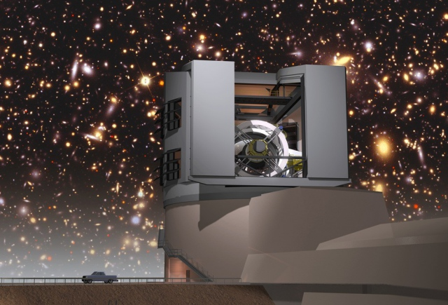 Камера для съемок далеких галактик