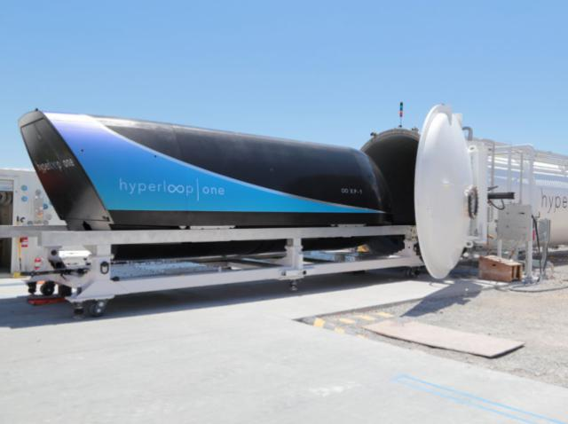 Капсули Hyperloop стали ще швидшими