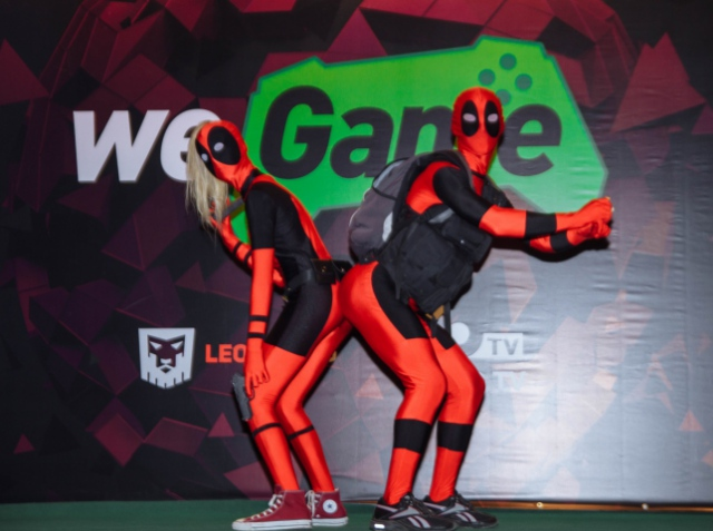 "Category ""Comics and literature"" of WEGAME 2.0 cosplay show"