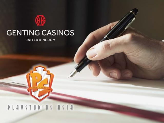 Казино компании Genting UK получат 40 игр от Playstudios