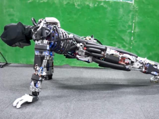 Kengoro – уникальный робот с поведением человека