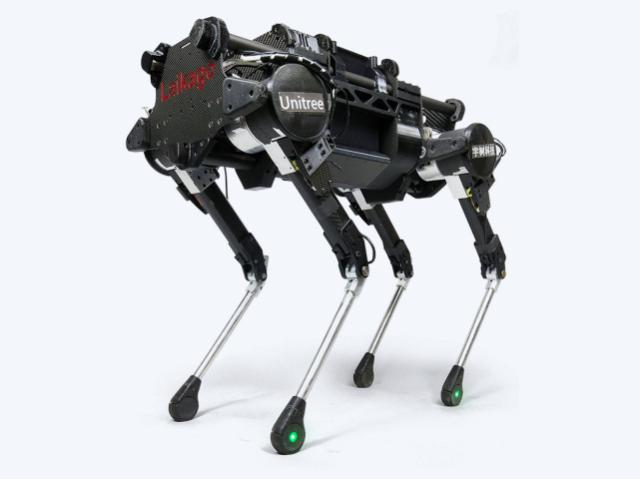 China made a copy of Boston Dynamics robot dog
