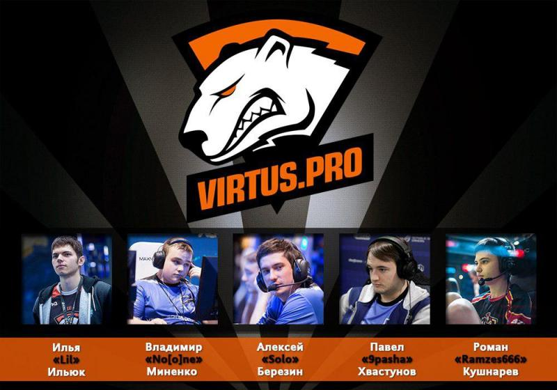 Virtus.pro G2A has prolonged contracts with members of Dota 2 team