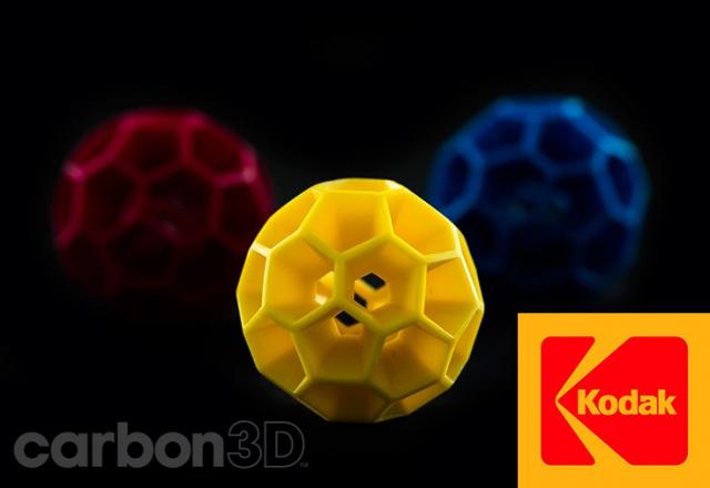 Kodak сотрудничает с Carbon 3D с целью усовершенствования материалов для 3D-печати