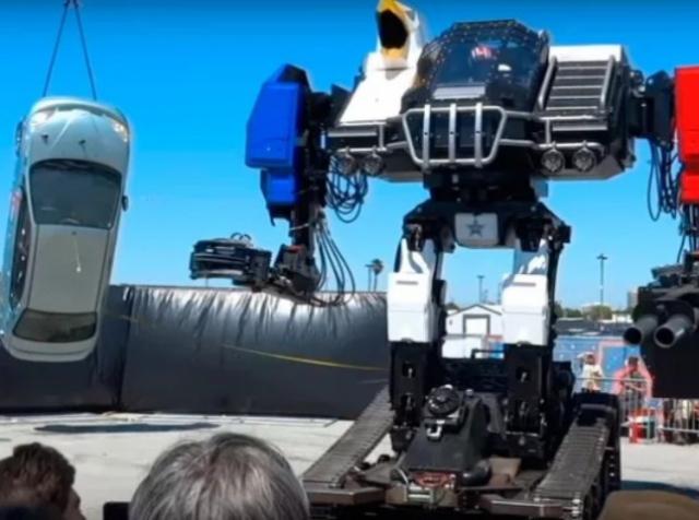 Команда MegaBots доделала своего боевого робота Mk. III