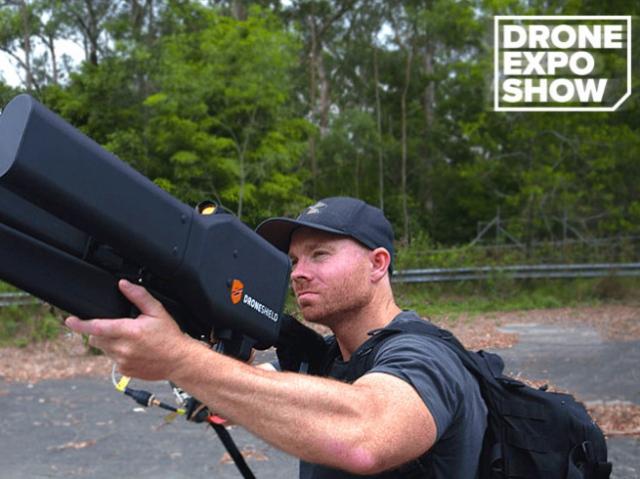 DroneShield developed drone countermeasure device