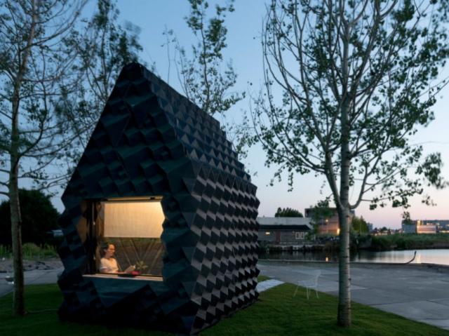 Компания DUS Architects создала 3D-печатный экодомик