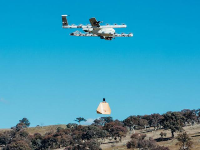 X Company began using Project Wing drone for medicine and food delivery in Australia