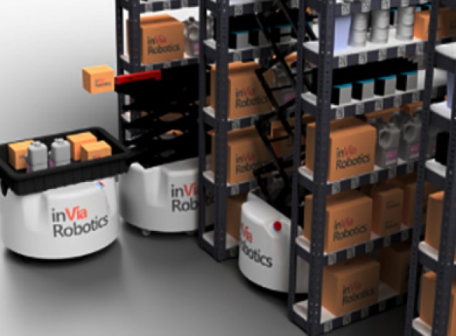 inVia Robotics launched mobile warehouse robots