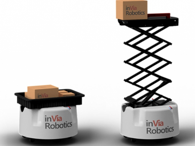 Компания inVia Robotics выпустила мобильных складских роботов