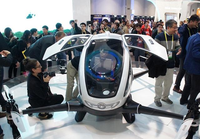 Компания из Гуанджоу разработала пассажирский беспилотник