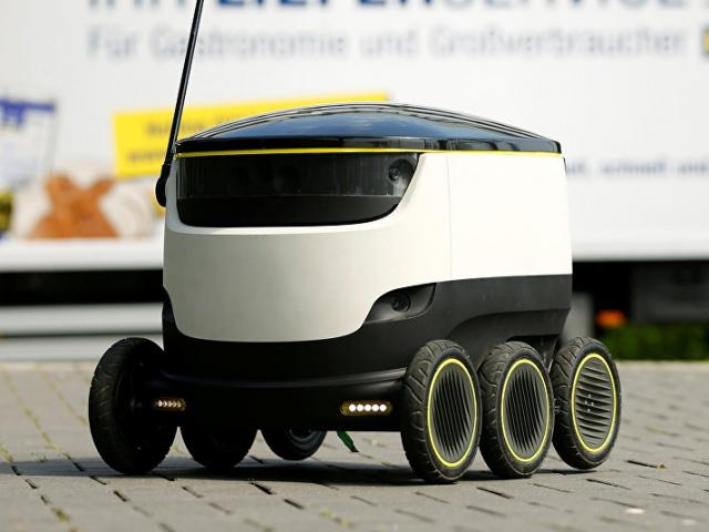 Концерн Daimler и другие инвесторы вложили $17,2 миллиона в производство роботов-курьеров