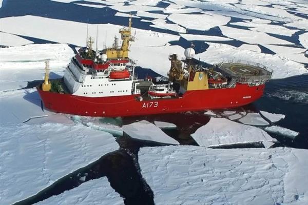 Королевский флот провел в Антарктиде успешные испытания созданного на 3D-принтере дрона