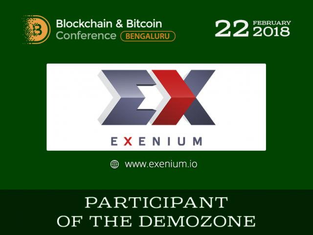 Launching ICO via messenger! Meet exhibition area participant – Exenium.io