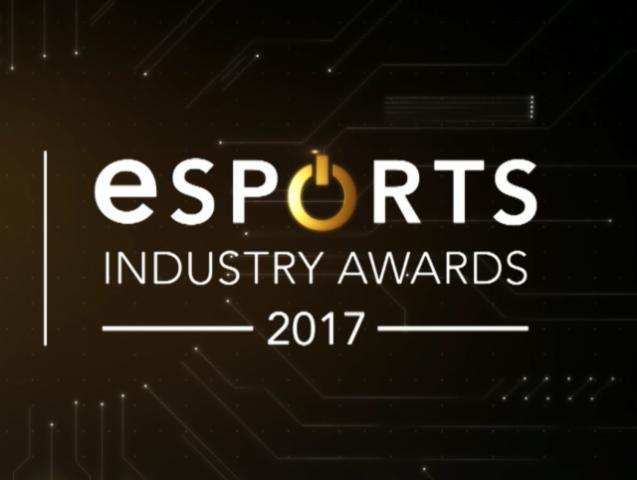 Лауреаты в основных номинациях киберспортивного награждения Industry Awards 2017