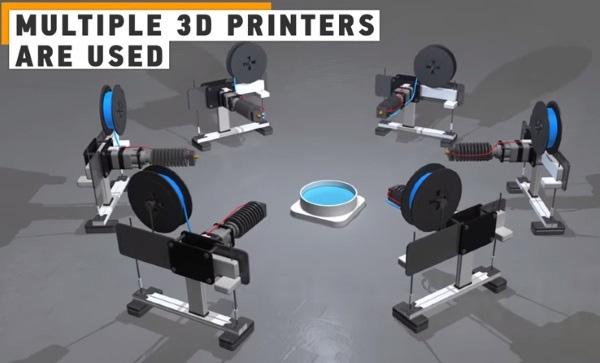 Левитирующие объекты создают при помощи 3D-печати