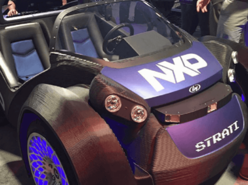 Local Motors разрабатывает 3D-печатный беспилотный автомобиль с режимом полёта
