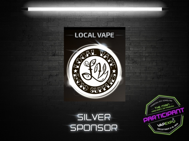 Local Vape, leading vape industry company, became silver sponsor of VAPEXPO Moscow 2016