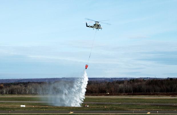 Lockheed Martin научила беспилотники тушить пожары