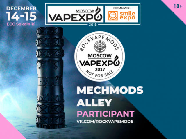 Made in Russia – the best hardware by Rockvape Mods at the Mech mods alley
