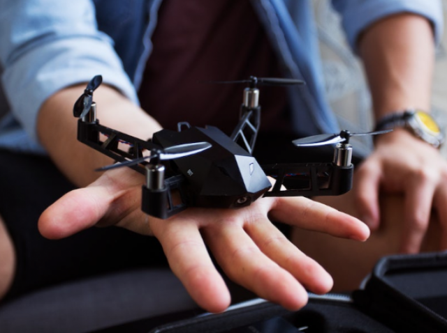 A little goes a long way: Kudrone, a miniature drone, learned to shoot 4K video