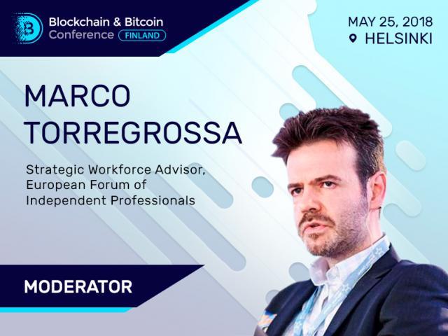 Marco Torregrossa Will Moderate Finnish Blockchain Event