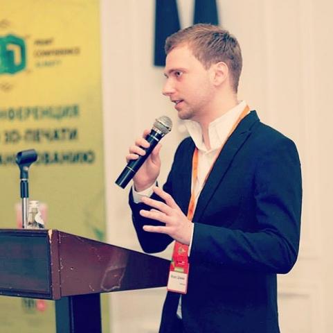 """Марес Шамжи, куратор 3D Print Conference Kiev 2015: """"Сейчас идет третья индустриальная революция и Украина просто обязана быть в самой гуще событий"""""""