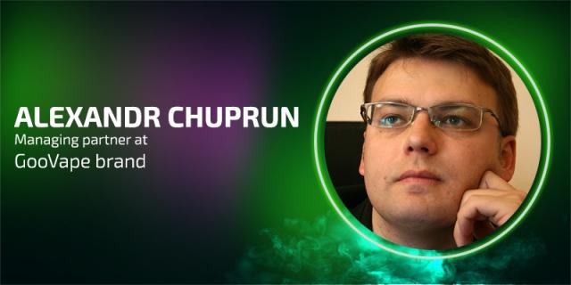 Meet new speaker of Vapexpo Moscow: Aleksandr Chuprun