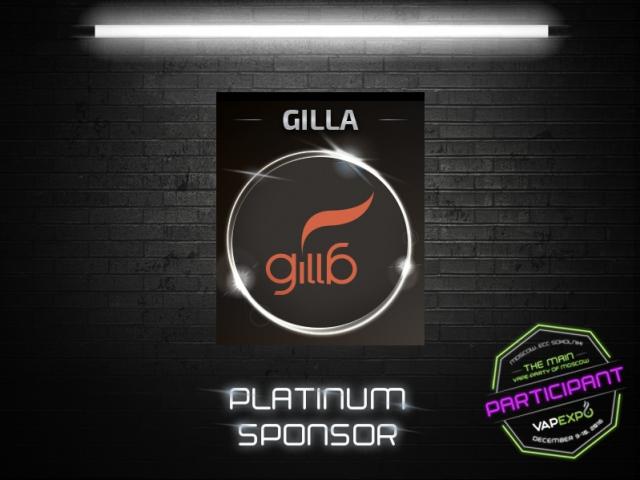Meet platinum sponsor of VAPEXPO Moscow 2016: GILLA