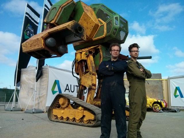 MegaBots будет использовать 3D-технологии для массового выпуска боевых роботов