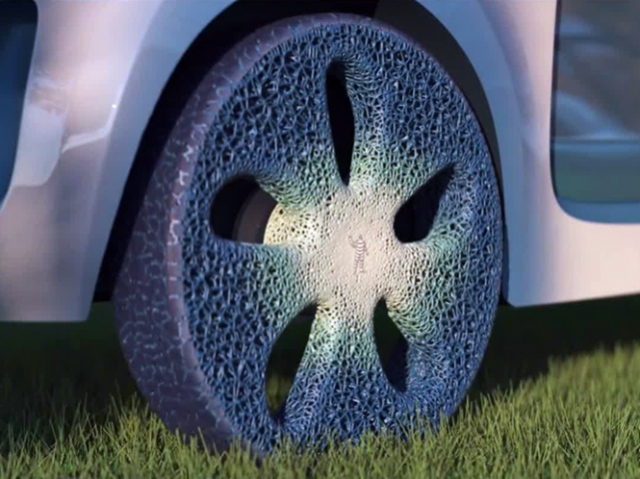 Michelin presents concept of airless 3D printed tires