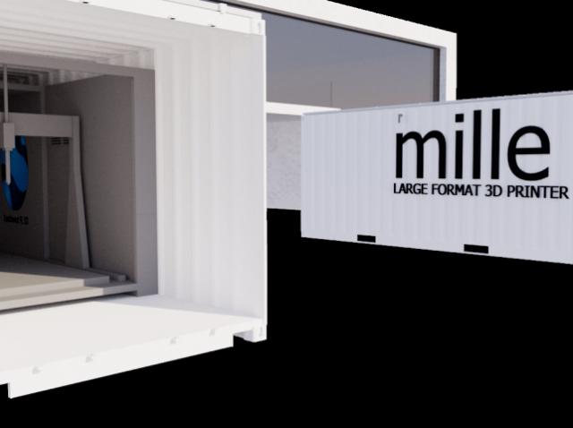 Millebot Inc. представила инновационную разработку для промышленной 3D-печати