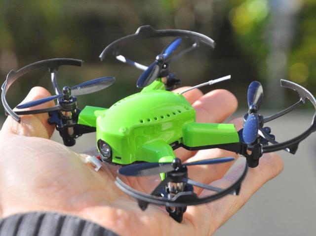 Миниатюрный дрон-лягушка Eachine Flyingfrog Q90