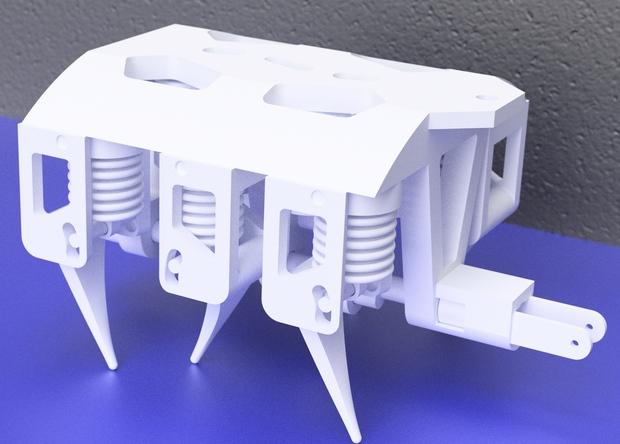 На 3D-принтере научились создавать гидравлические узлы