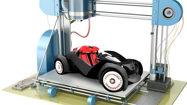 На 3D-принтере создали работоспособную копию автомобиля AC Cobra