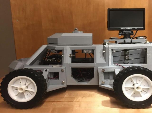 На 3D-принтере создали роботизированную систему Sentinel
