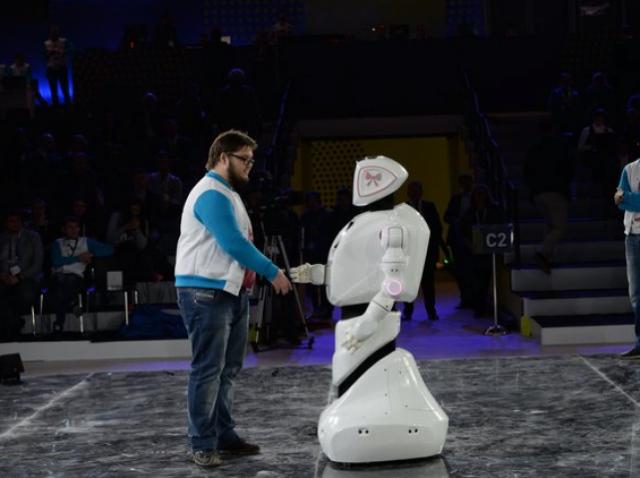 На форуме «Открытые инновации» был представлен робот-консультант