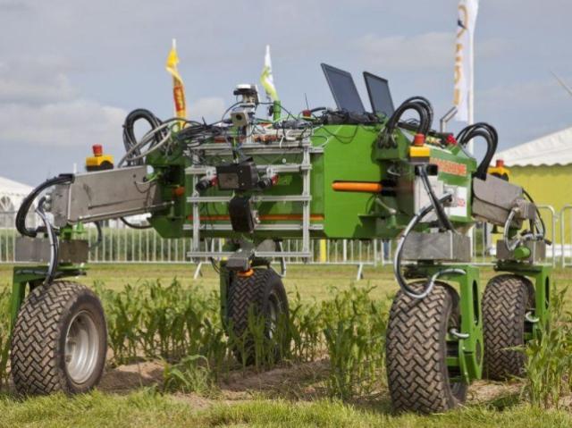 На российских полях будут работать роботы