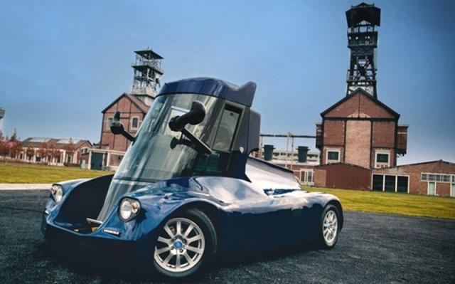 Необычный электромобиль Iris