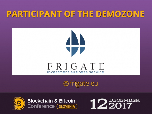 New exhibitor – Frigate: financial products for investors and ICO founders