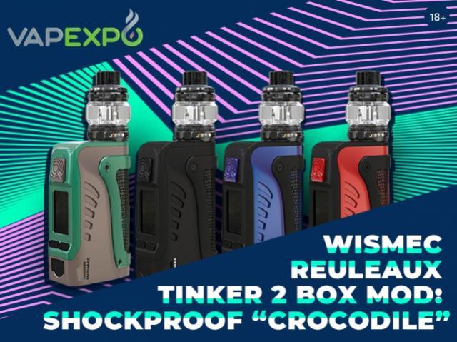 New Wismec Reuleaux Tinker 2 Box Mod Review