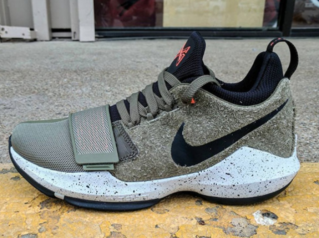 NIKE PG 1 Elements – classic UNDFTD colors