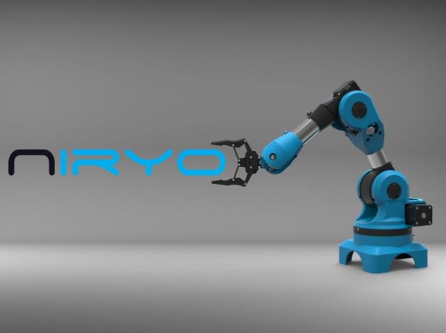 Niryo One: новая роботизированная рука-манипулятор