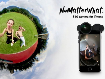 NoMatterWhat will make a 360 degree camera from an iPhone